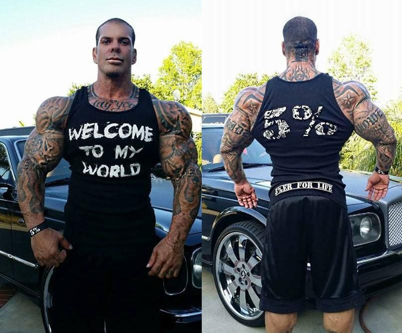 """Welcome to MY WORLD"" -Rich Piana #motivation # ..."