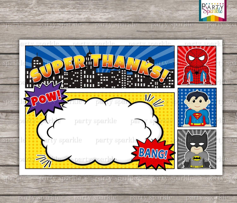 Birthday Invitation Superhero Birthday Invitations Free