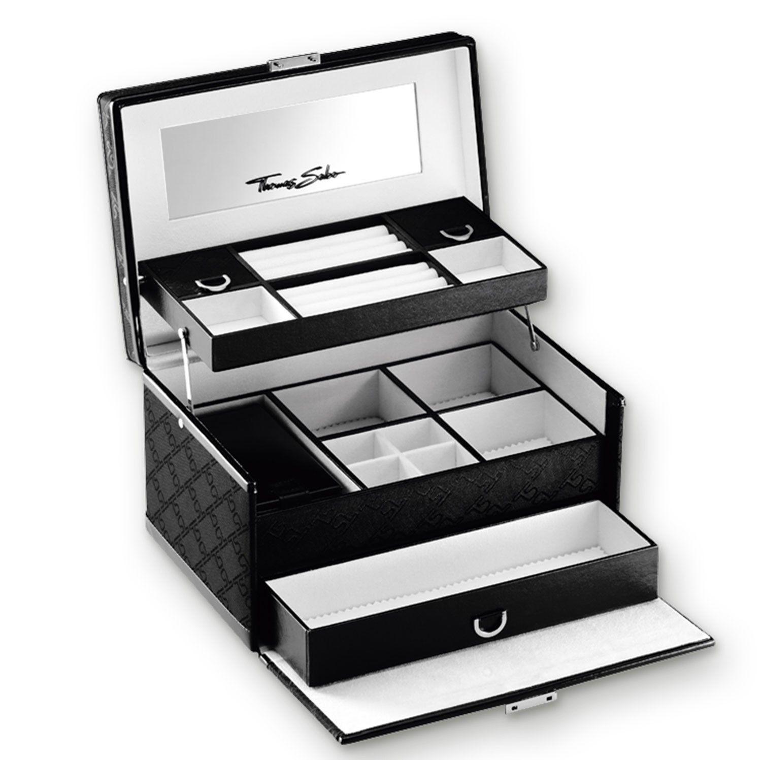 Thomas Sabo Large Black Jewellery Box DK90 | Black jewelry