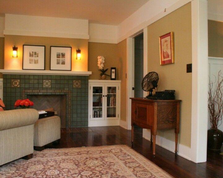 Bungalow living room | Craftsman living rooms, Bungalow ...