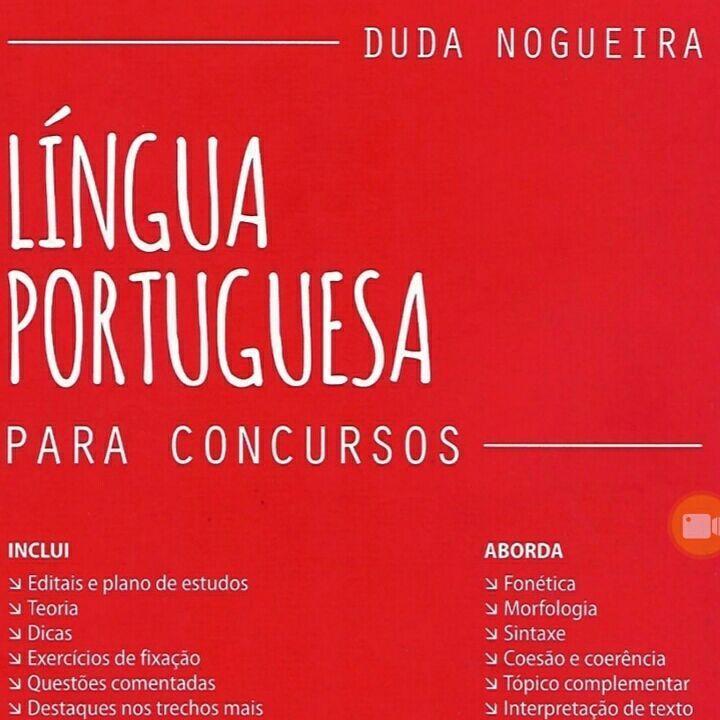 Livro De Lingua Portuguesa Da Duda Nogueira Completo Em Nossa