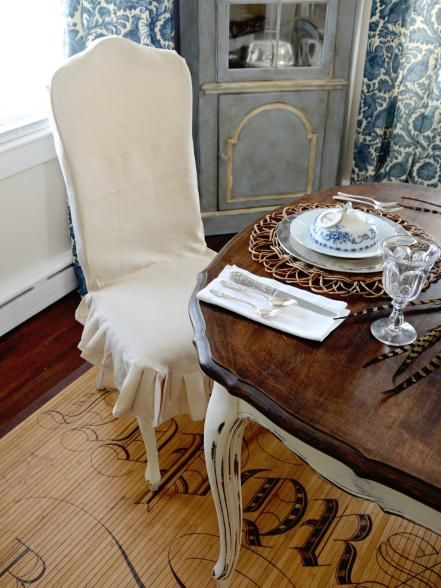 Slipcover Past-Their-Prime Chairs