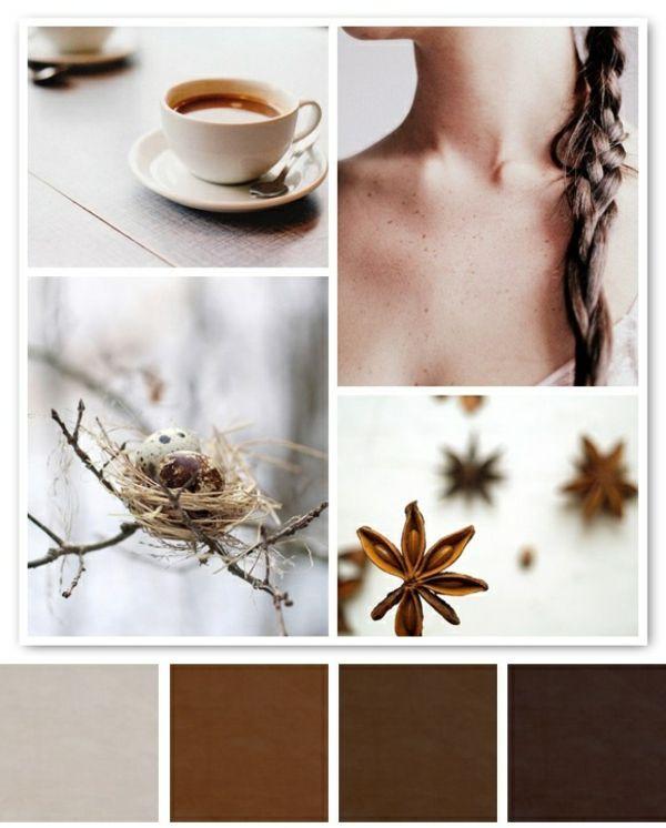 Wandfarbe Mocca - Wände streichen in eine kaffeebraune Farbnuance ...