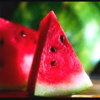 I love watermelons.