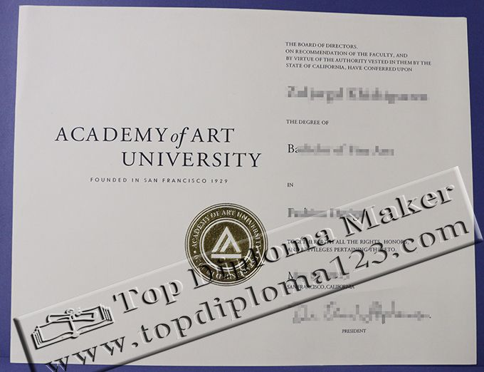 Academy Of Art University Bachelor Certificate Academy Of Art