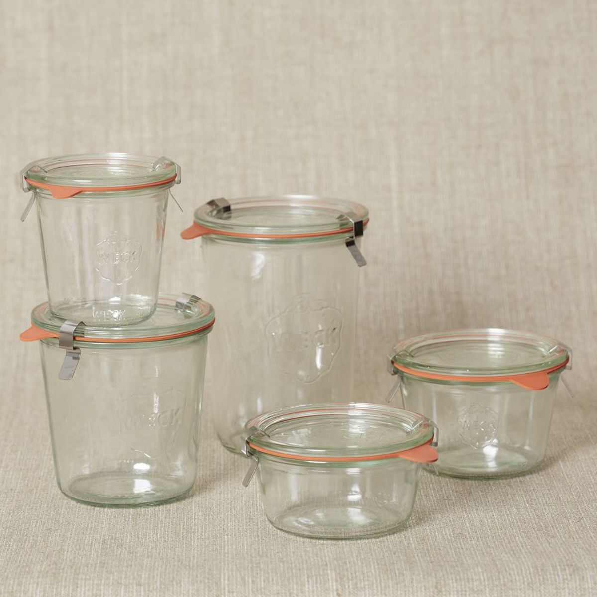 Weck Glass Jars - add a LEON engraving. | Cookshop | Pinterest ...