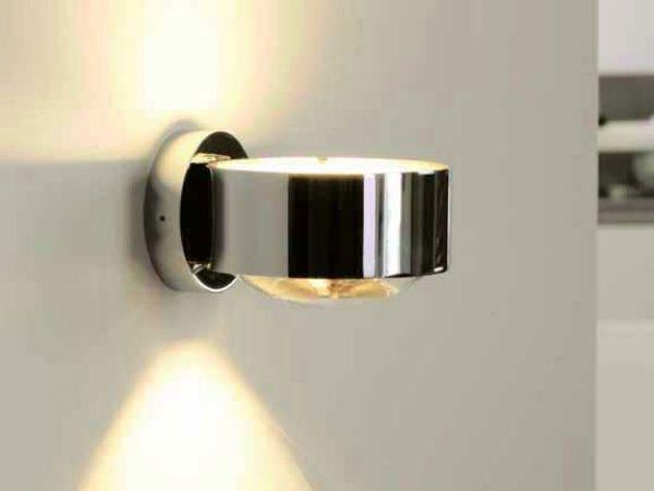 Wandleuchte Badezimmer ~ Stilvolle led wandleuchte mit fachen lichtaustritt höhe