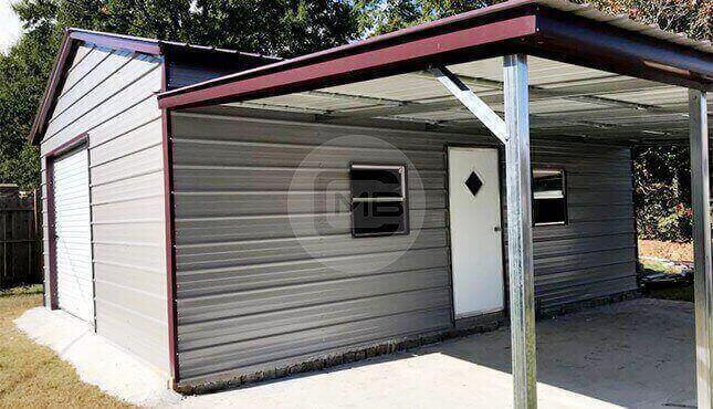 32 x 25 Garage With LeanTo 32 x 25 Metal Garage Prices