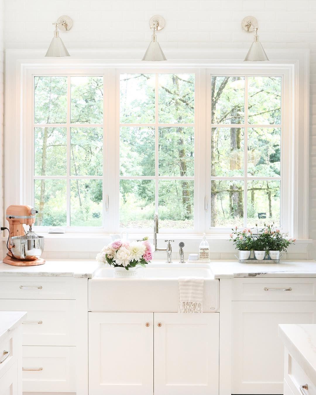 Gorgeous bright kitchen | •Kitchen | Pinterest | Essen und Trinken ...