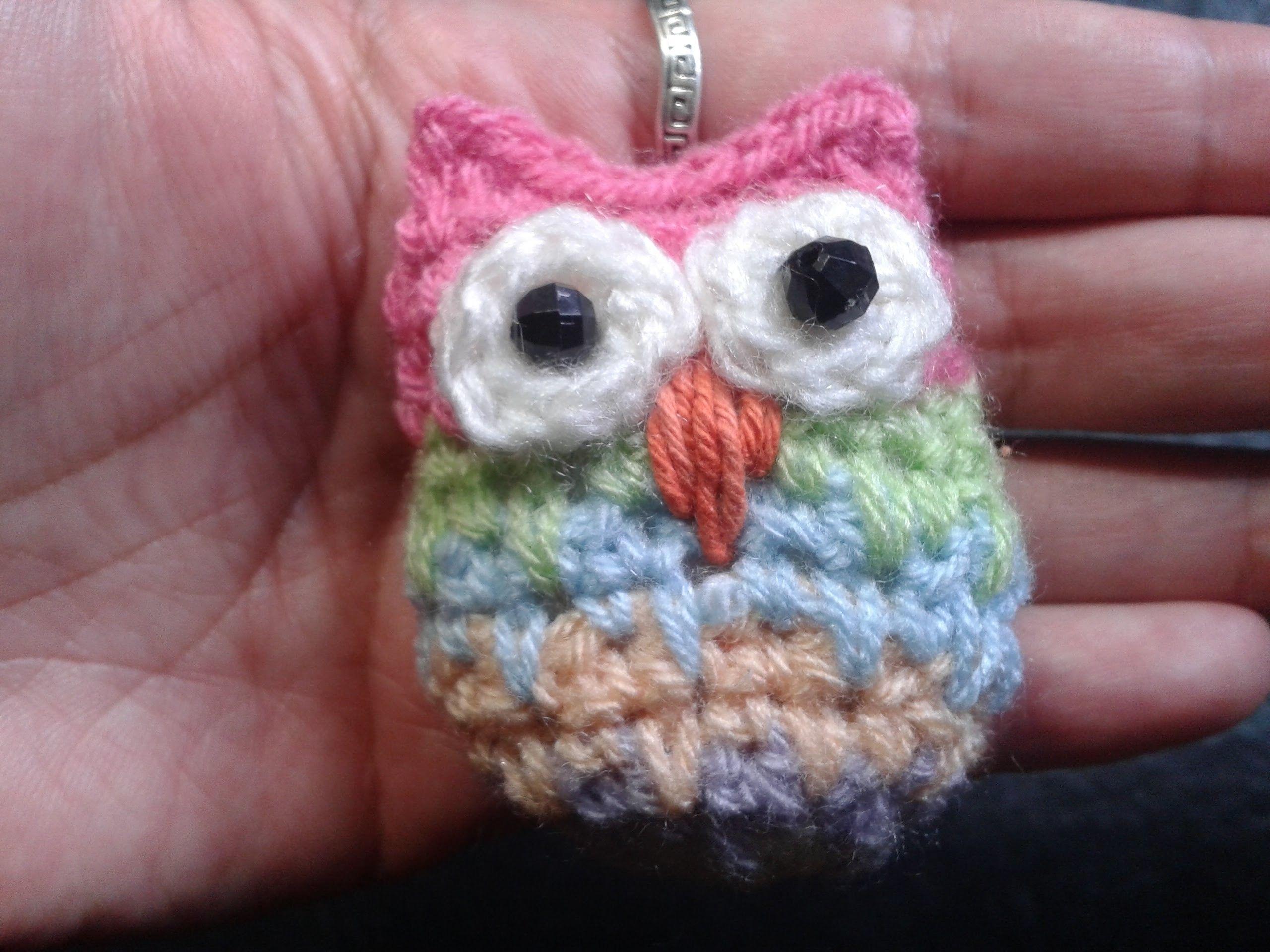 Como hacer un buho al crochet. Tejemos?! | Sorteo, Él es y Apliques