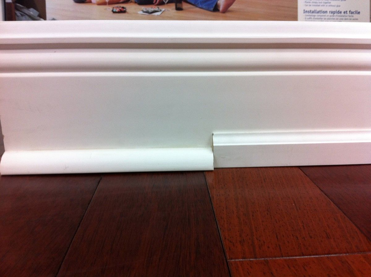 Shoe Molding Vs Baseboard Luxury Moulding Instead Of Quarter Round Good Idea