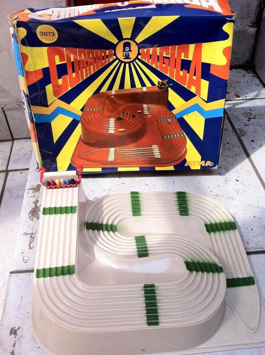 Brinquedo Antigo Atma Corrida Magica Pilulas Caixa C Pilulas - R$ 2.200,00 no MercadoLivre