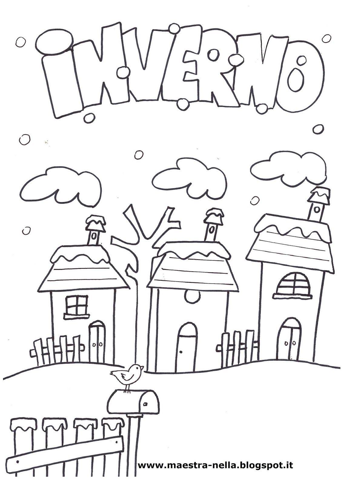 Disegni idee e lavoretti per la scuola dell 39 infanzia e for Addobbi inverno scuola dell infanzia