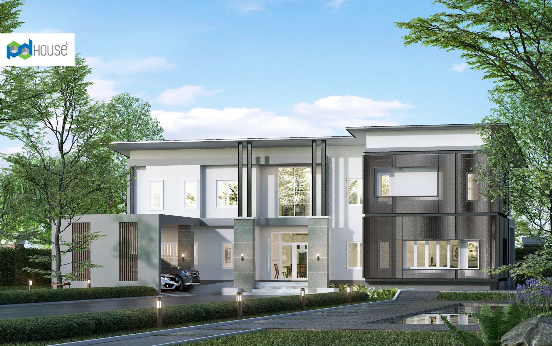 ป กพ นในบอร ด Fire Home Series Modern Style House