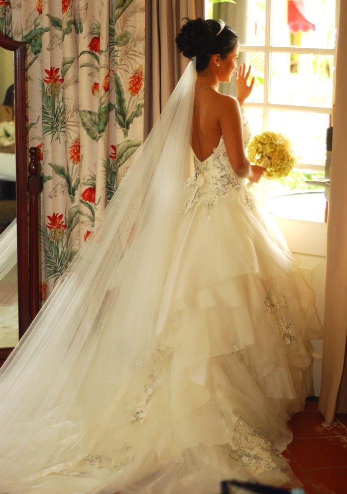 Sandals Real Wedding Mitzmichael And Katrinas Wedded Bliss