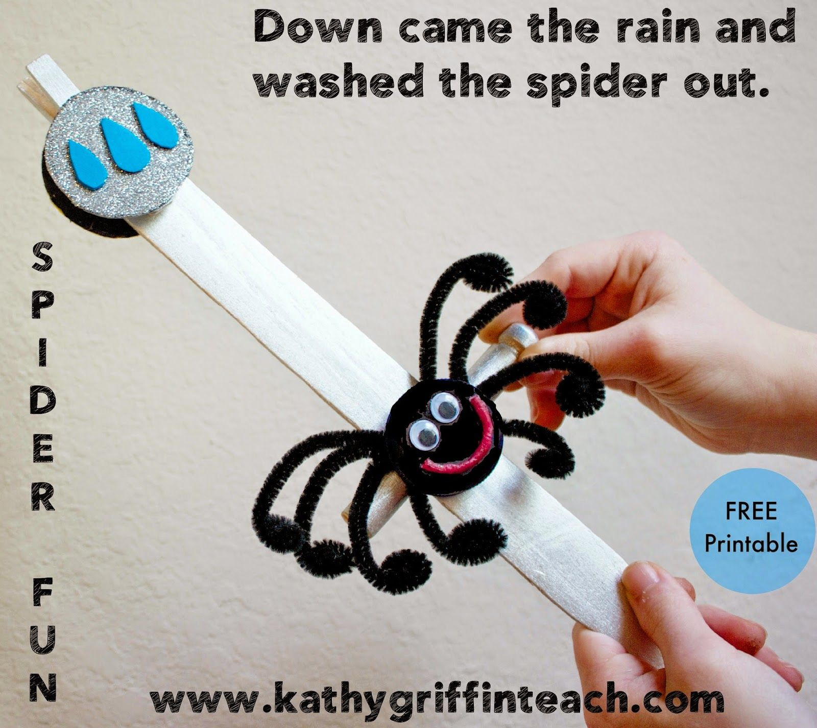 The Itsy Bitsy Spider Is One Of My Favorite Nursery Rhymes