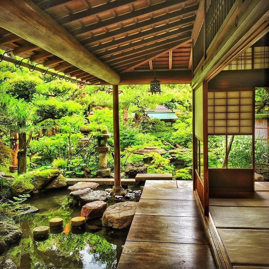 Pin By Colorful On Pstt232323 Japanese Style House Traditional Japanese House Japanese House