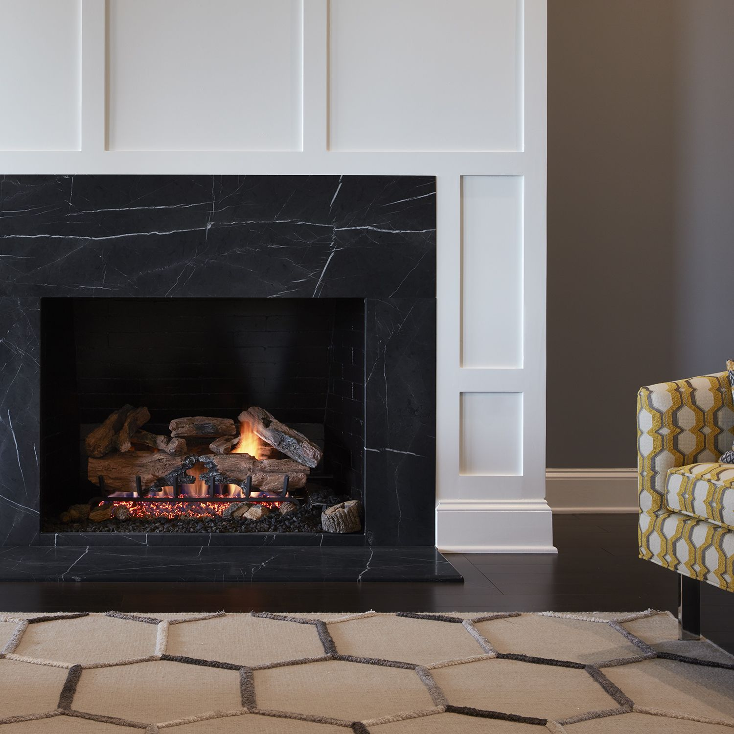Pin On Sublime Stone, Black Marble Fireplace Surround Ideas