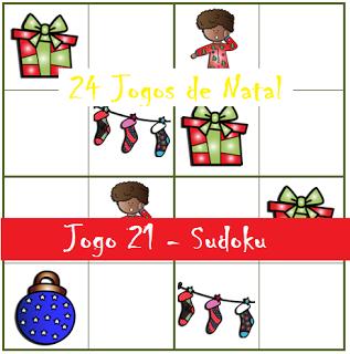Traquinices e Lápis de Cera: Jogo 21 - Sudoku