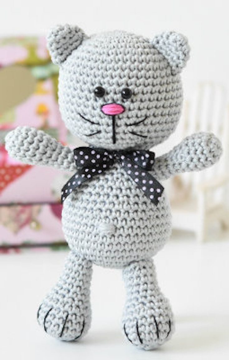 8 Free Crochet Pattern – Crazy Crochet Cats | Fun stuff! | Pinterest