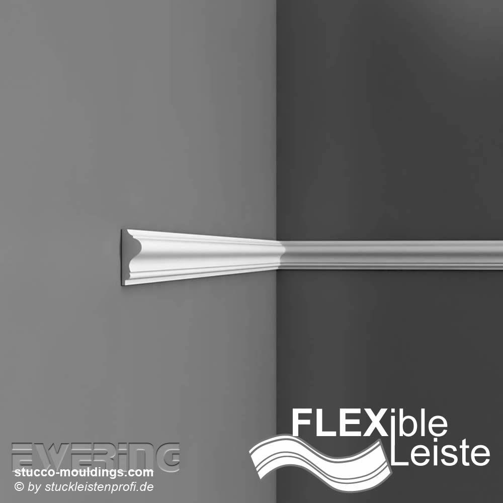 stuckleisten flexible wandleiste p8030f orac decor luxxus. Black Bedroom Furniture Sets. Home Design Ideas