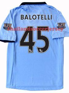 big sale f2153 00a22 New 12-13 Manchester City Home Football Shirt Balotelli #45 ...