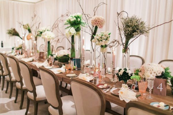 Rustic Wedding Found Vintage Rentals Seating Dining