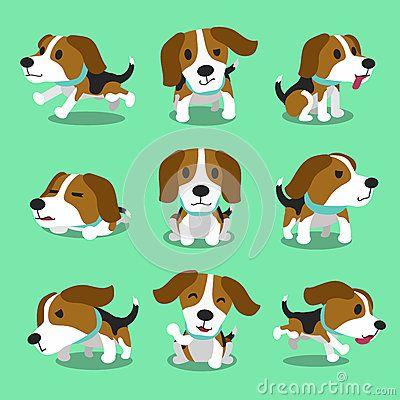 Cartoon Beagle Sign Stock Vector Image 47295281 Cartoon Dog
