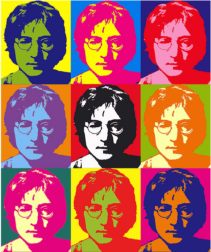 Warhol - color theory using repeated images of common things ...