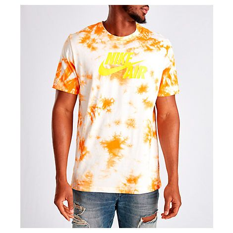 f2c262cc NIKE MEN'S AIR TIE DYE T-SHIRT, ORANGE. #nike #cloth | Nike in 2019 ...