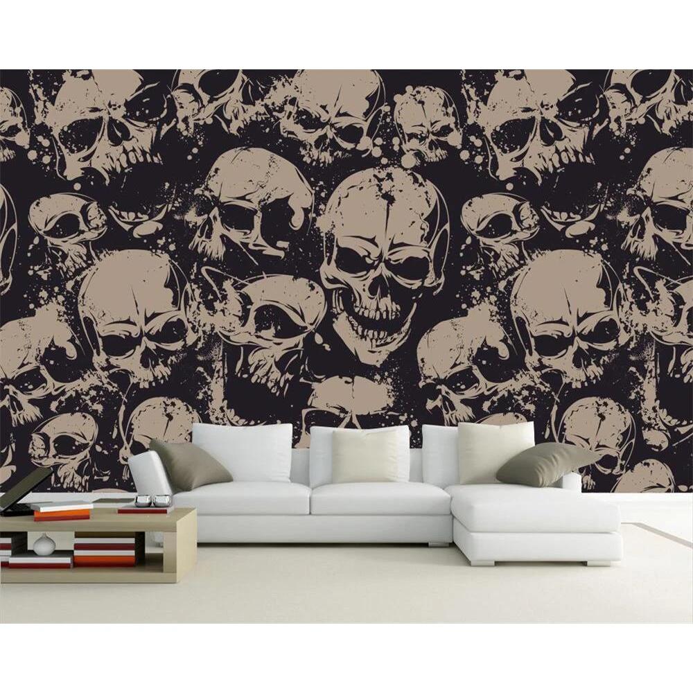 Best Skull Wall Arts Skullflow Skull Wall Art Wallpaper 400 x 300