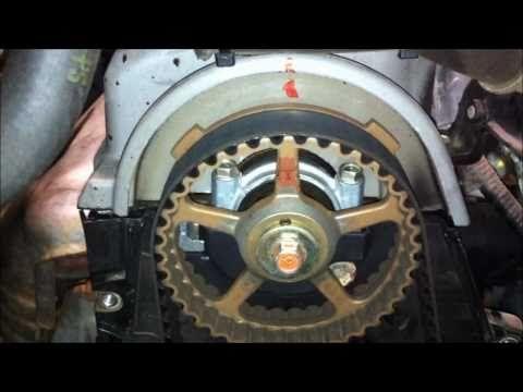 Pt 2 Of 2 Timing Belt Service 7th Gen Honda Civic The How To Honda Civic Timing Belt Honda