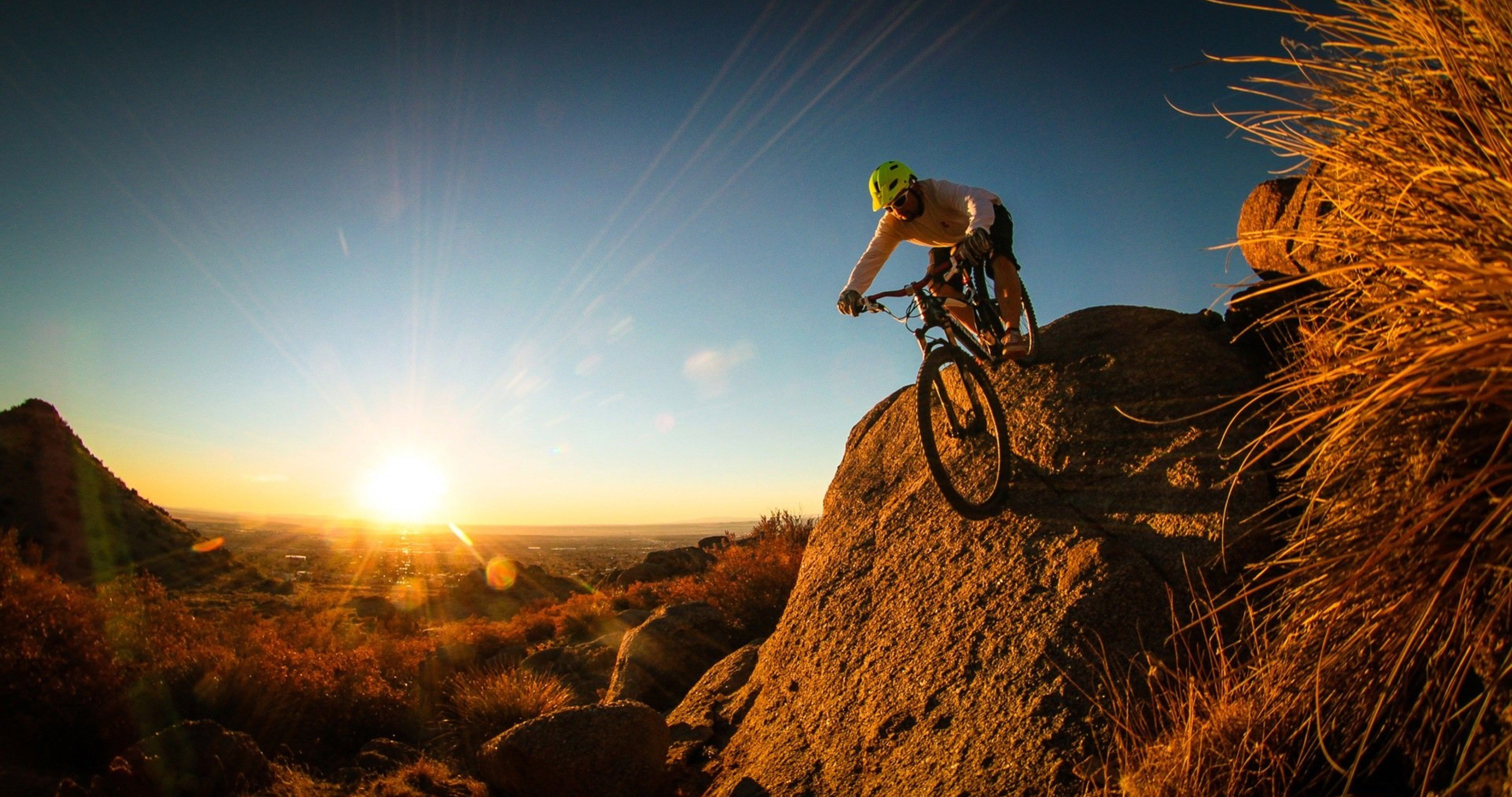 Extreme Sport Mountain Bike 4k Ultra Hd Wallpaper