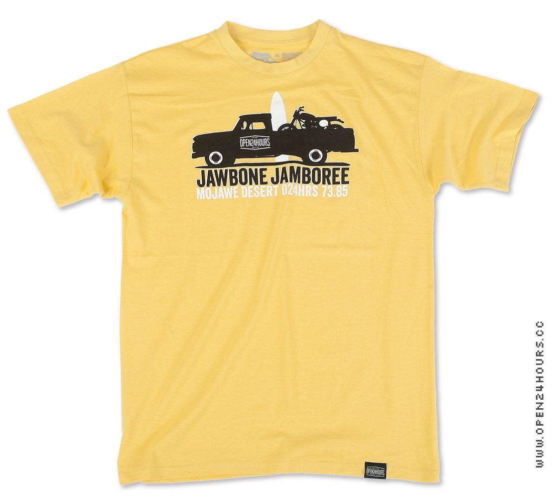 Jawbone Jamboree #design #tribute #tshirt #surf #motors