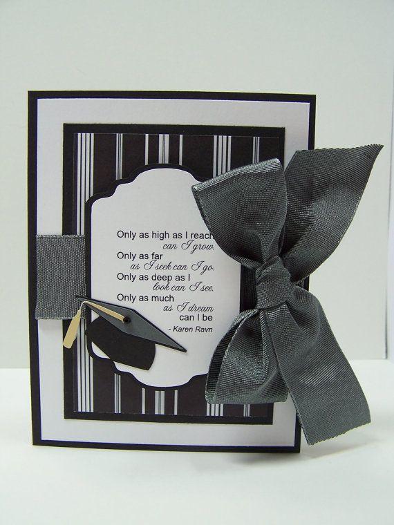 Stampin Up Handmade Greeting Card Masculine Graduation Card