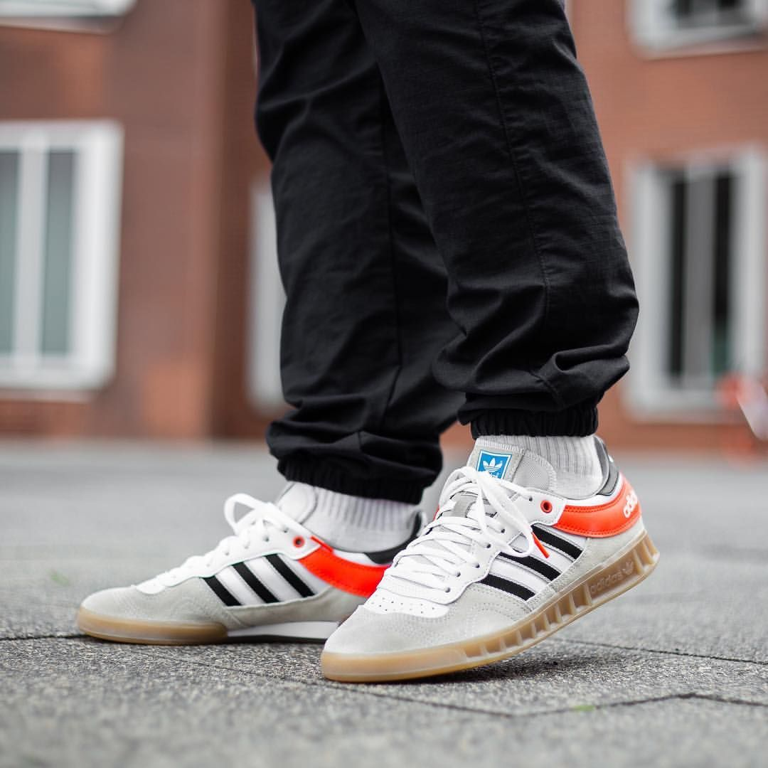 new styles 43db8 1a522 adidas Originals Handball Top  Solar Red