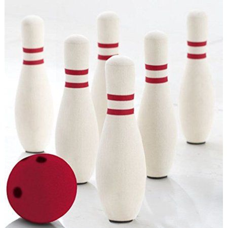 This Quality Rubber Foam Bowling Set Will Provide Fun For The Entire Family The Kovot Foam Bowling Set Include 6 In 2020 Indoor Games For Kids Kids Bowling Kids Safe