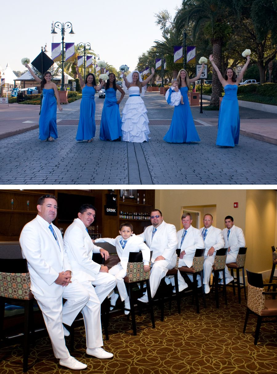 Modern Embassy Suites Wedding Reception Model - Blue Wedding Color ...