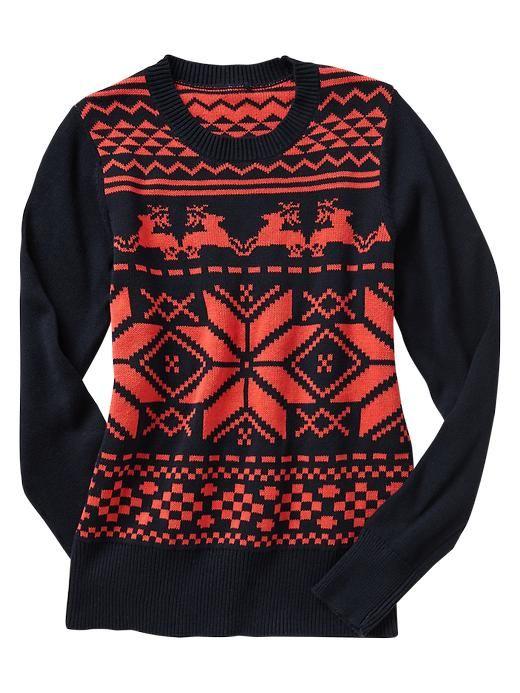 Holiday fair isle sweater Product Image   Fashion style file ...