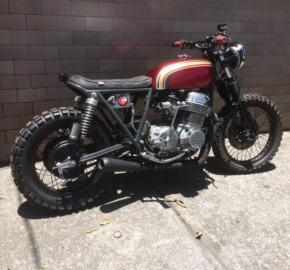 Tailor made 1976 CB750 by Soul Motor Co. in Mexico City | Custom ...