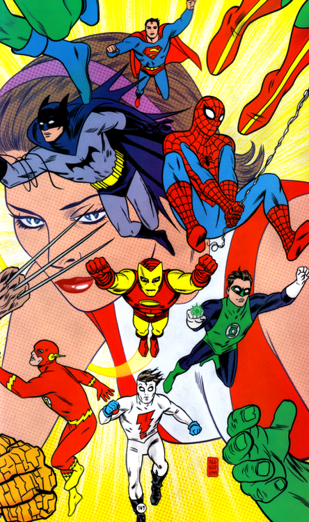 Heroes by Mike Allred