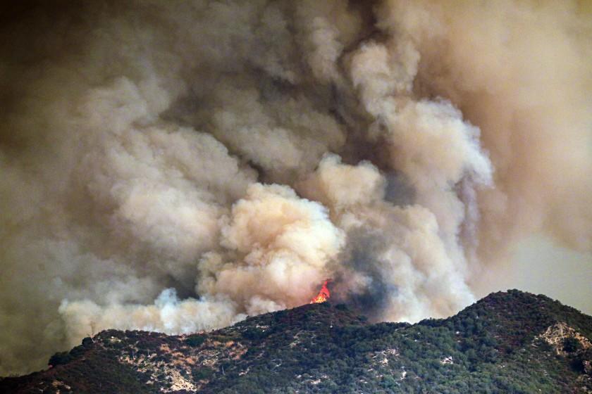 Fire In San Gabriel Today
