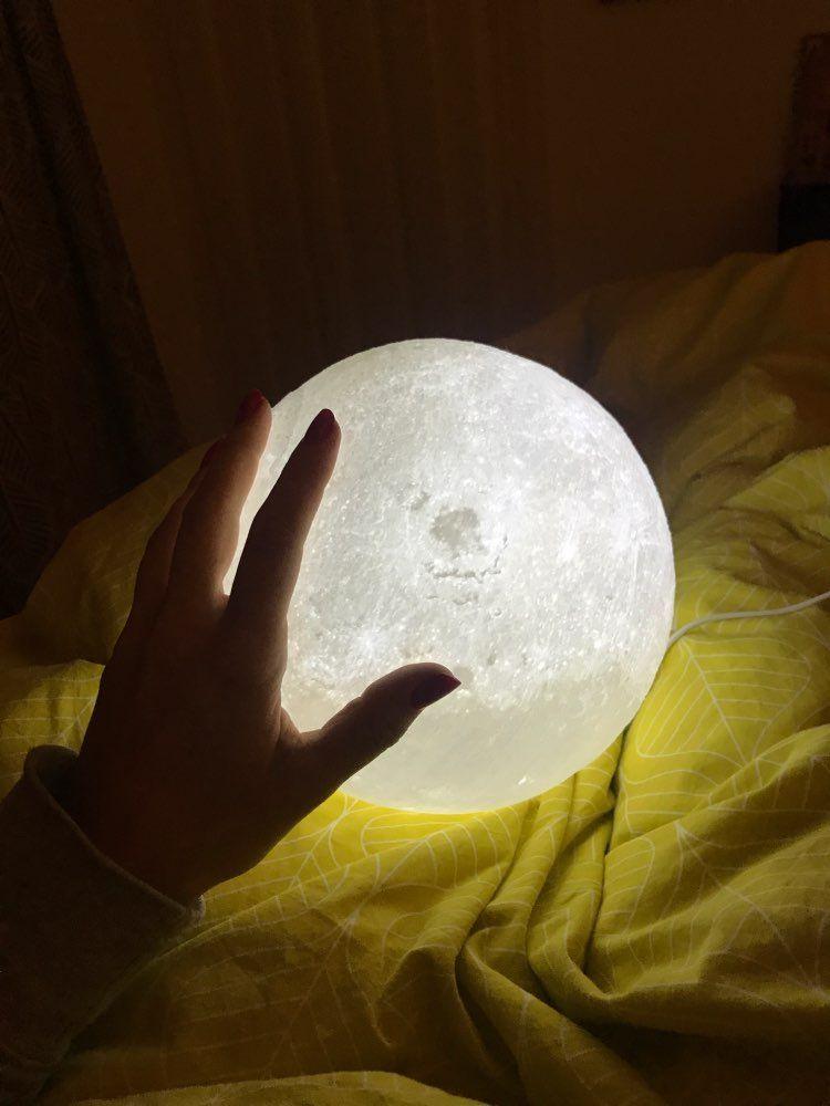 3d Moon Lamp Nordic Decor Poster Prints Kinetic Sculpture