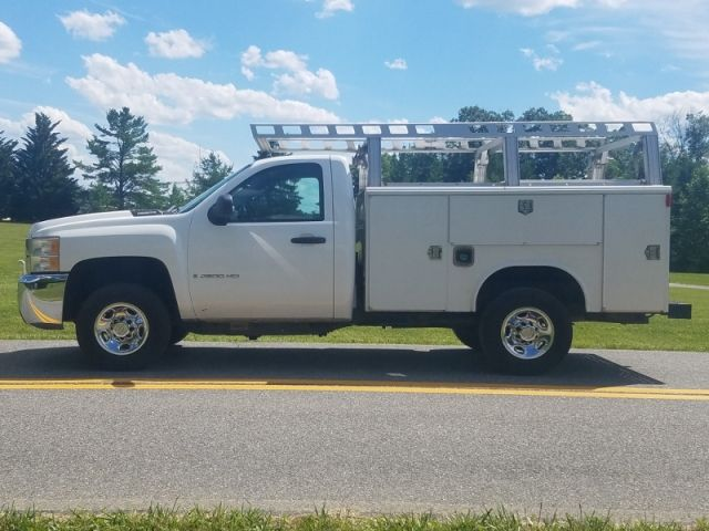 2008 Chevy 2500 Hd Extended Cab Diesel Utility Truck Trucks For Sale Utility Truck Extended Cab