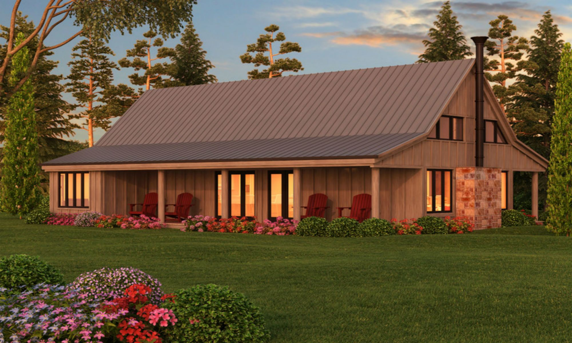 Pole barn homes house projects pinterest barn house for Pole barn home kits indiana