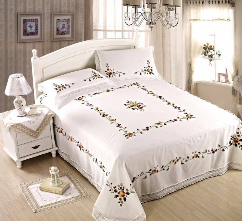 Pin On Colchas, Aliexpress White Queen Bed Sheets
