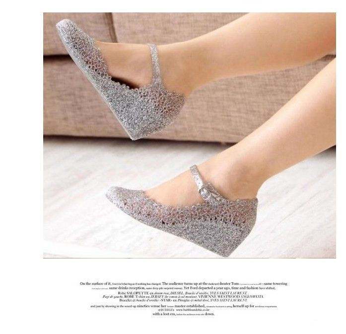 a98cbd6c5e Wholesale Summer Girls Wedge Jelly Shoes Beach Comfortable Women ...
