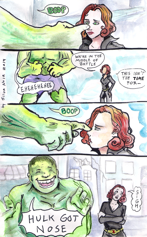 Really. Black widow y hulk hentai something