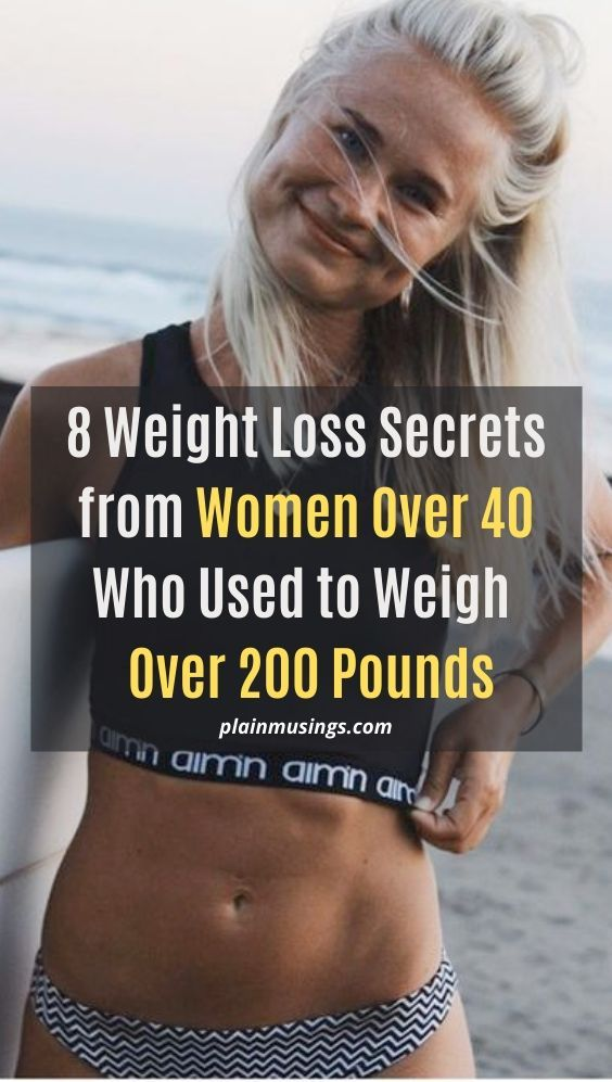8 Weight Loss Tips From Women Over 40 Who Used To