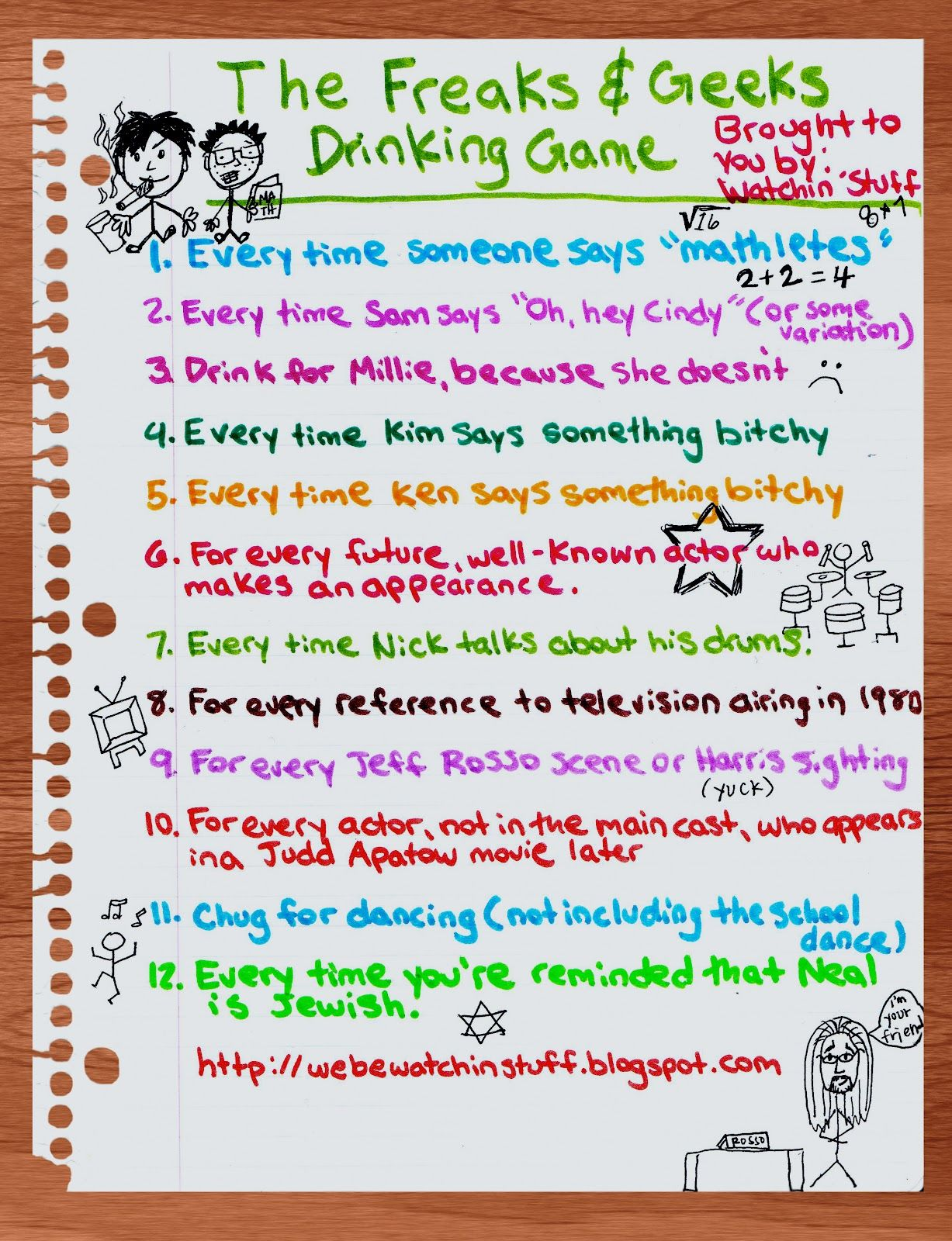 Pin By Adriana Montes On Lol Freaks And Geeks Tv Show Drinking Games Freeks And Geeks